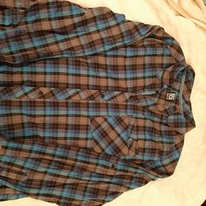 Enyce by Sean Combs plaid button Shirt Size 5X